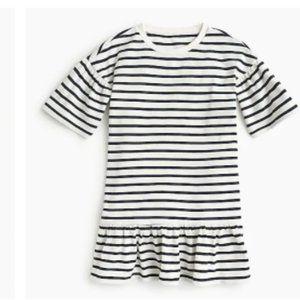 J.CREW Girls' drop-waist dress in stripes